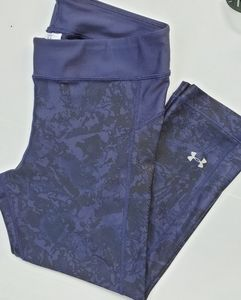 UNDER ARMOUR Women's Sports Capri Leggings, s:M.